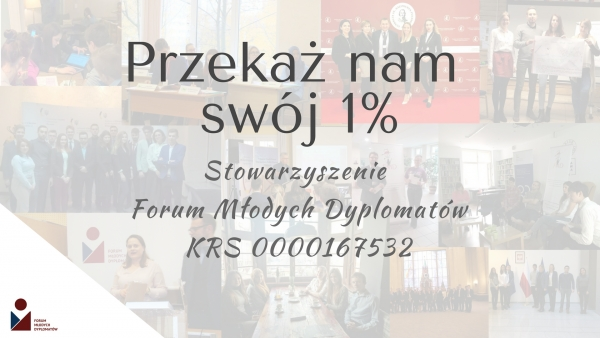 1% podatku dla FMD 2018