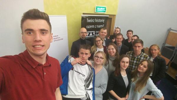 FMD Trójmiasto: spotkanie we współpracy z NZS UG o 15-leciu Polski w UE
